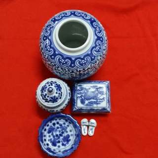 Different type of porcelain (whole sets)