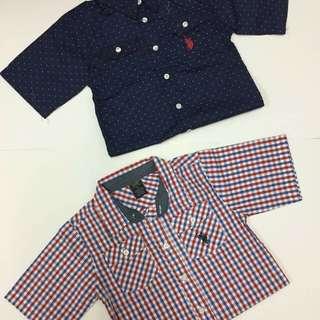 Boys Shirt us polo size 6