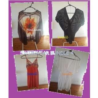 Swimwear Bundle 4 - Cover dress & top