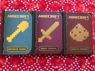 3 Minecraft Handbooks, NEW