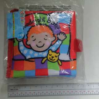 Goodnight Baby Cloth Book