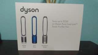 Dyson Pure Cool Link Tower Purifier Fan Voucher