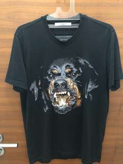 Givenchy Rottweiler Embroidered Tee 100% AUTHENTIC