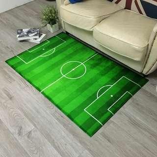 A Fun Soccer Field Carpet @$88
