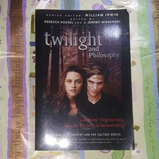 Twilight and philosophy🐇