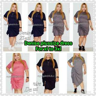 Denise plussize dress For xl to 3xl Retail 350