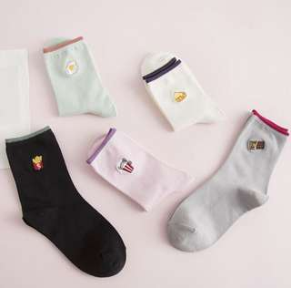 Food high socks