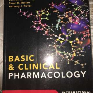Basic & Clinical Pharmacology Lange