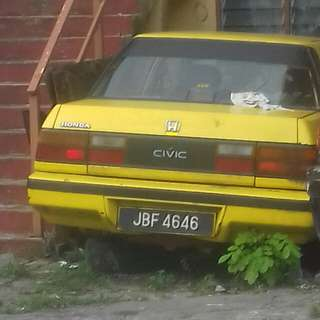 Old honda for spare part