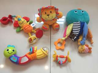 Baby Toys - mothercare,Carter's, pigeon .