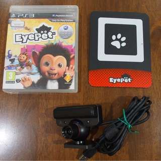 EYEPET PS3 Interactive Game comes with Playstation Eye!