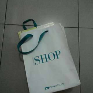 Cathay Pacific Paperbag