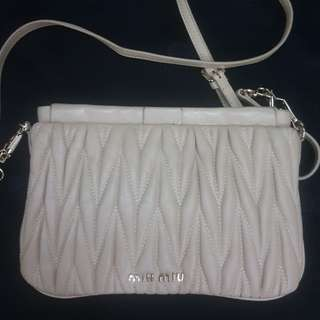 Miu miu sling/clutch bag