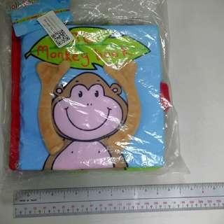 """My Monkey Book"" Cloth Book"