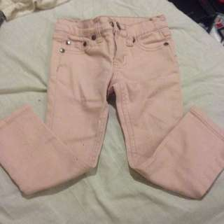 REDUCED PASTEL PINK CHARLIE&ME JEANS