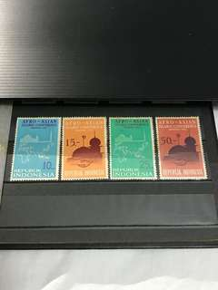 Indonesia Stamp Set of 4