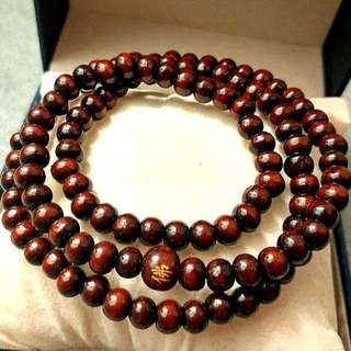 天然開光佛珠手鏈/頸鏈(可兩用)(避邪去煞、化解負面的磁場 Natural open beads beads bracelet / necklace (can be dual-use) (evil to evil, to resolve the negative magnetic field