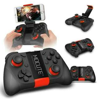 GAMEPAD BLUETOOTH WIRELESS MOCUTE 050 GAME CONTROLLER ANDROID DAN IOS