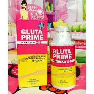 Gluta prime lotion