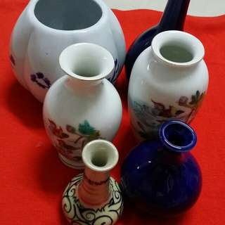 Porcelain vase (whole set)