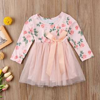 Instock - floral tutu dress, baby infant toddler girl children sweet kid happy ancdefgh so pretty