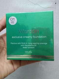 Wardah exclusive creamy foundatin