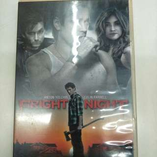 Fright night English movie DVD