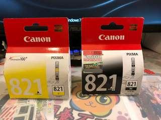 Canon Pixma 原廠墨匣(黑黃各一)