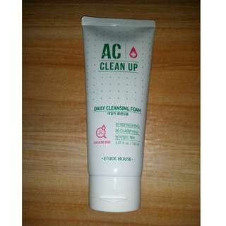 Etude House AC Clean Up Daily Cleansing Foam 150 mL