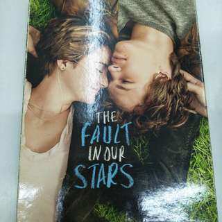 The fault in our stars English movie DVD