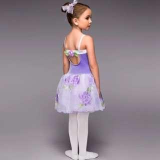 Flowery Purple Ballet Tutu (BNWT)