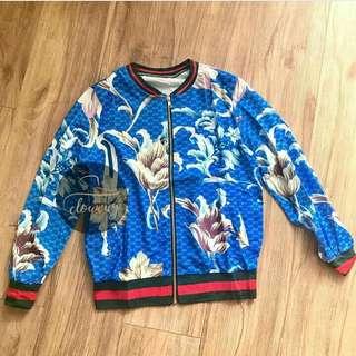 Printed gucci jacket