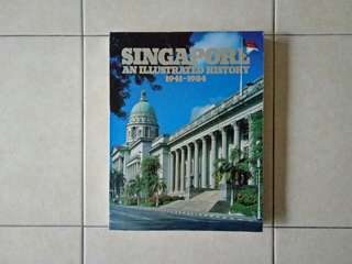1941-1984 Singapore History Book Condition 7/10