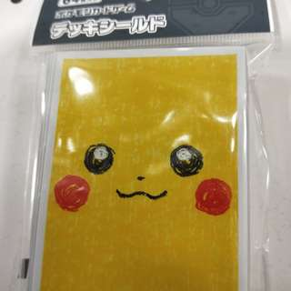 Pokemon Card Sleeves Pikachu