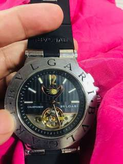 Automatic Bvlgari Hard Copy Bought in HK for 12k