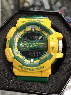 Casio G-Shock GA-400CS-9A ga-400cs-9 GA-400CS GA-400 黃色