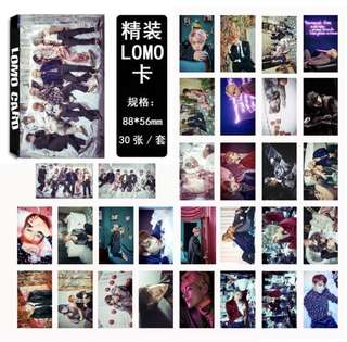 [PREORDER] BTS GROUP WINGS 30 LOMO CARDS