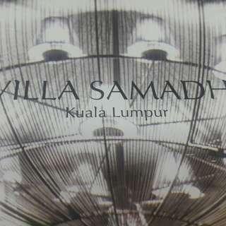 Villa Samadhi voucher for 2 nights