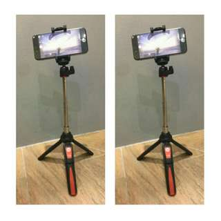 MeFoto Selfie Stick for Mobile and Action Camera w/ Bluetooth Remote
