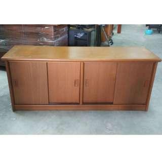Low Cabinet Sliding Door with Roller (L156 x D47 x H64 cm) * L17 C