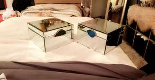 Mirror Jewellery box x2