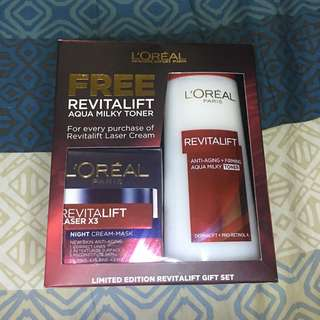 L'Oreal Revitalift Gift Set (Limited Ed)