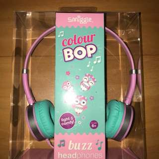 Smiggle Colour Bop Buzz Headphones