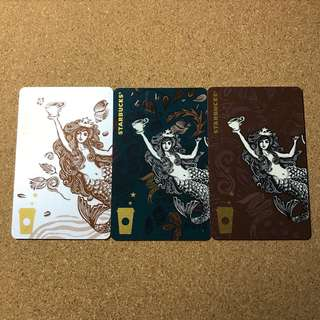 China Starbucks Siren Set Card