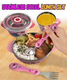 STAINLESS STEEL LUNCH SET