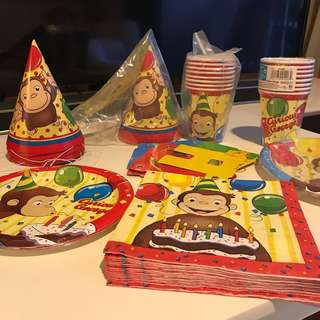 Curious George Party Supply