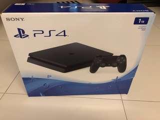 WTS- PS4 Slim 1 TB + Fifa 16