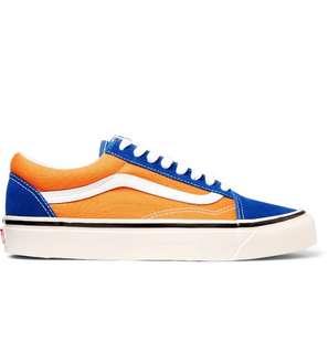 Vans Old Skool 36 DX Anaheim (Orange/Gold/Blue)