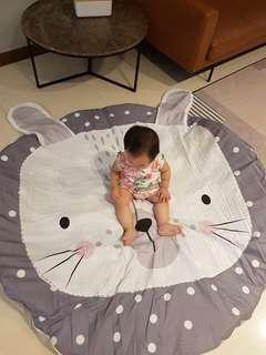 Kids rabbit play mat