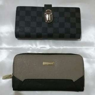 LV and GIRBAUD wallet